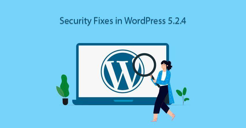 Wordpress Update 5.2.4
