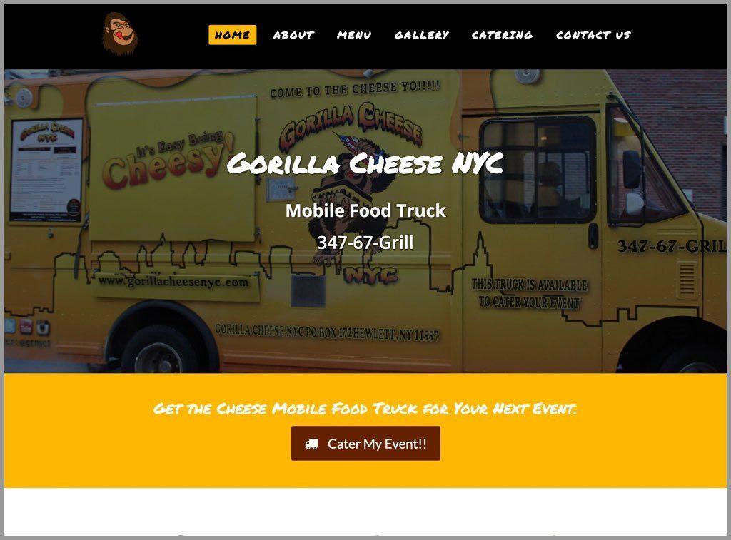 Gorilla Cheese NYC Screenshot