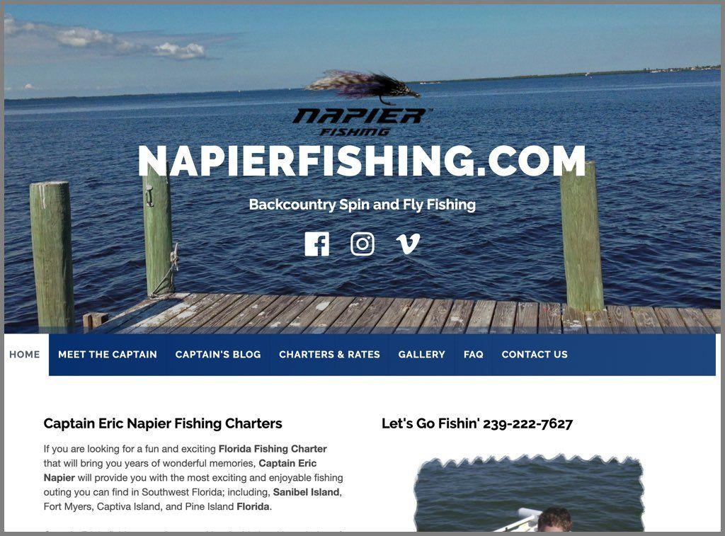 Napier Fishing Charters Screenshot