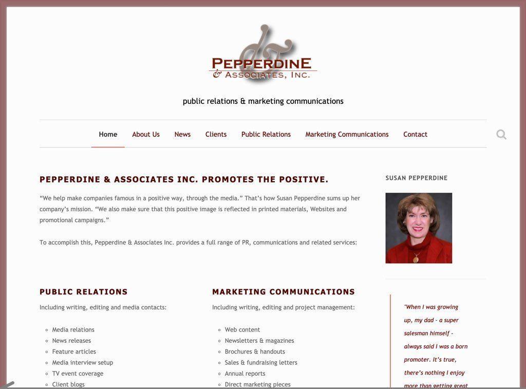 Pepperdine PR Screenshot