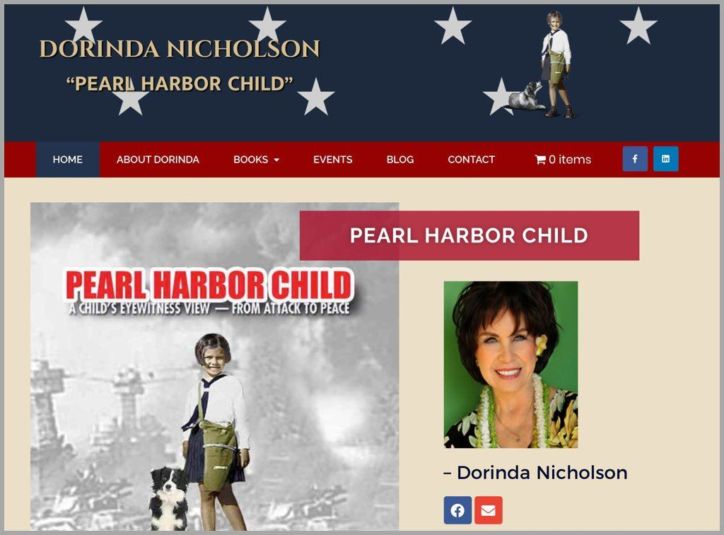 Pearl Harbor Child Website